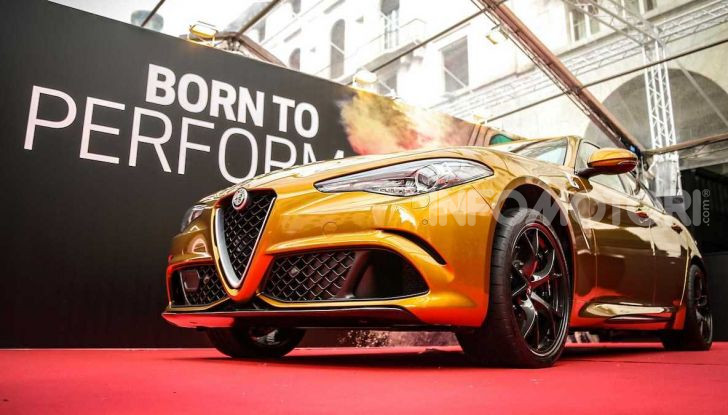 Un'Alfa Romeo Giulia Quadrifoglio d'oro per celebrare la Mille Miglia 2019 - Foto 7 di 8