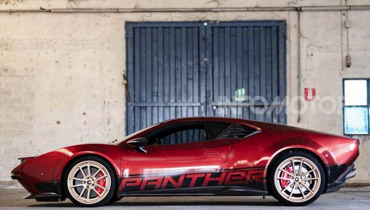 Ares Panther ProgettoUno: rinascita d'autore per la De Tomaso Pantera - Foto 4 di 24
