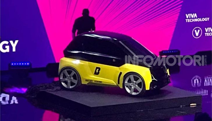 B-Nano, microcar elettrica firmata Usain Bolt - Foto 1 di 8