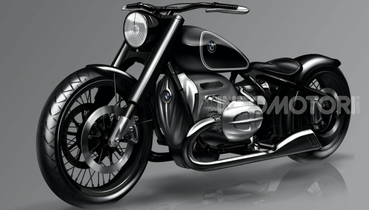 BMW Concept R18: la custom che unisce passato e futuro - Foto 6 di 9