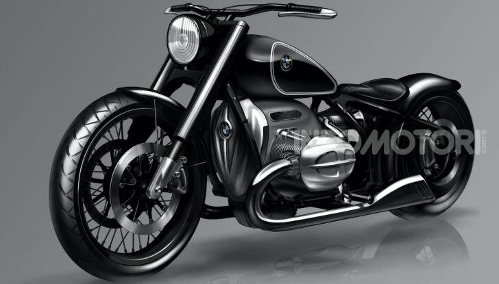 BMW Motorrad Concept R 18: il prototipo custom della casa tedesca ad Eicma 2019 - Foto 6 di 9