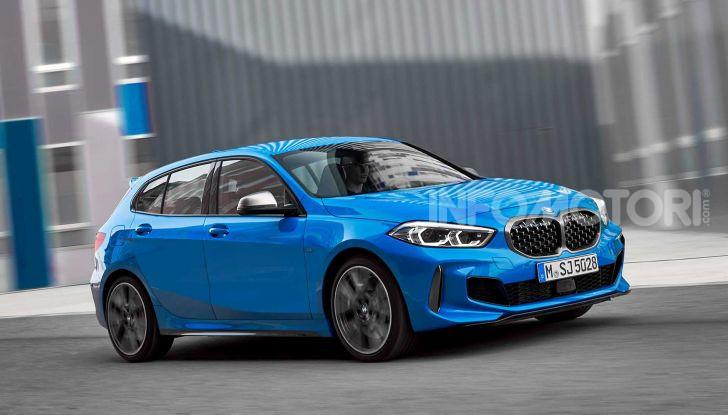 BMW Serie 1 2019: trazione anteriore, design rivisitato - Foto 1 di 17