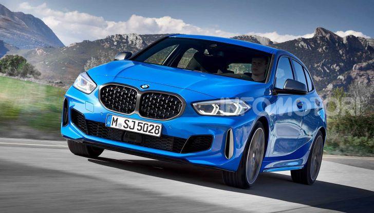 BMW Serie 1 2019: trazione anteriore, design rivisitato - Foto 10 di 17
