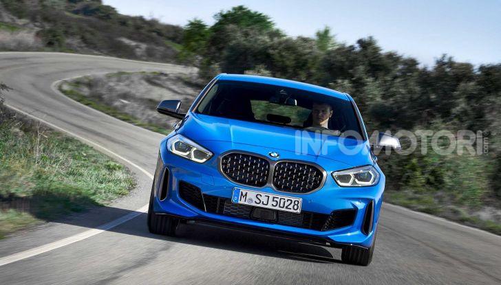 BMW Serie 1 2019: trazione anteriore, design rivisitato - Foto 11 di 17