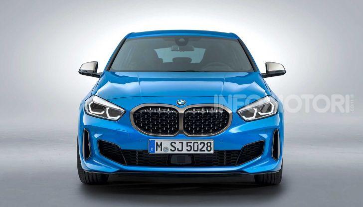 BMW Serie 1 2019: trazione anteriore, design rivisitato - Foto 12 di 17