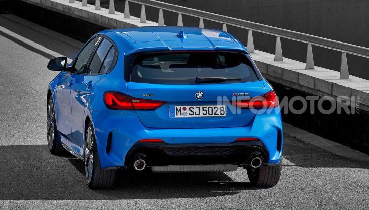 BMW Serie 1 2019: trazione anteriore, design rivisitato - Foto 13 di 17