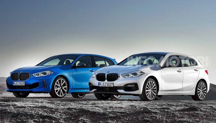 BMW Serie 1 2019: trazione anteriore, design rivisitato - Foto 16 di 17