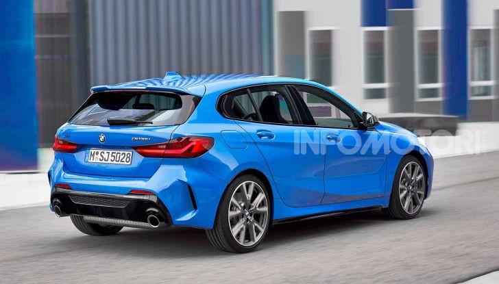 BMW Serie 1 2019: trazione anteriore, design rivisitato - Foto 2 di 17