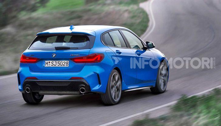 BMW Serie 1 2019: trazione anteriore, design rivisitato - Foto 4 di 17