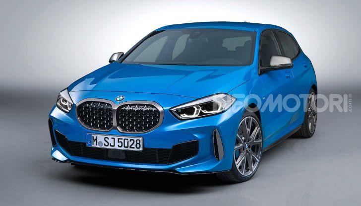 BMW Serie 1 2019: trazione anteriore, design rivisitato - Foto 15 di 17