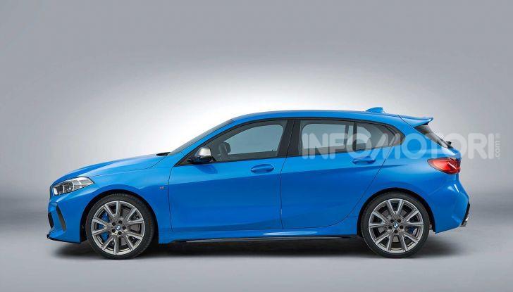 BMW Serie 1 2019: trazione anteriore, design rivisitato - Foto 6 di 17
