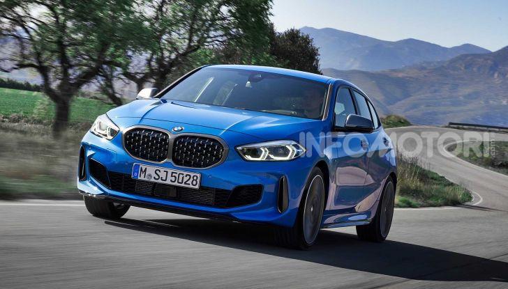 BMW Serie 1 2019: trazione anteriore, design rivisitato - Foto 7 di 17