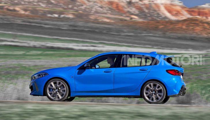 BMW Serie 1 2019: trazione anteriore, design rivisitato - Foto 8 di 17