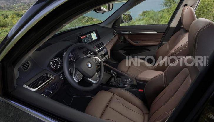 Nuova BMW X1 2020: caratteristiche, motori, allestimenti e prezzi - Foto 13 di 26