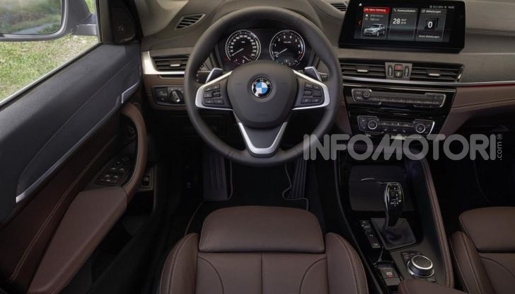Nuova BMW X1 2020: caratteristiche, motori, allestimenti e prezzi - Foto 14 di 26