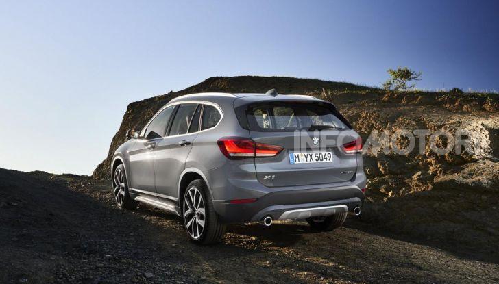 Nuova BMW X1 2020: caratteristiche, motori, allestimenti e prezzi - Foto 3 di 26