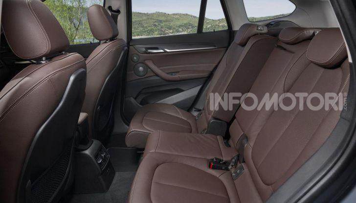 Nuova BMW X1 2020: caratteristiche, motori, allestimenti e prezzi - Foto 10 di 26