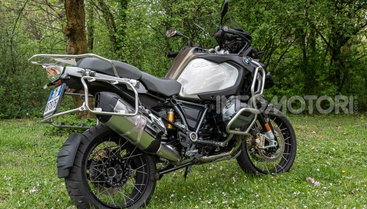 Prova video BMW R1250GS Adventure 2019 – Quanto è cresciuta la regina? - Foto 5 di 37