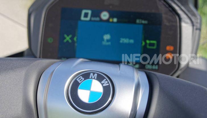 Prova BMW C400 GT: quasi perfetto, ma non a buon mercato - Foto 29 di 44