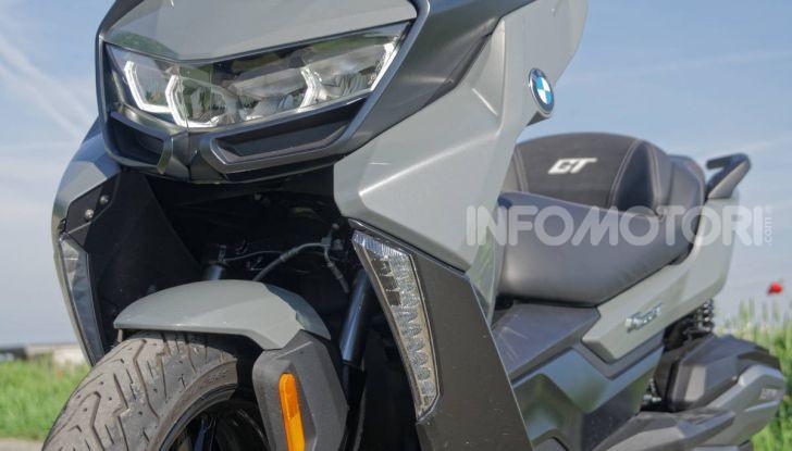 Prova BMW C400 GT: quasi perfetto, ma non a buon mercato - Foto 38 di 44