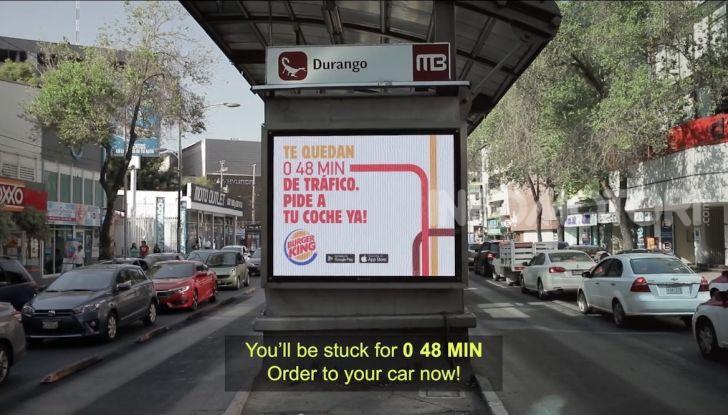 """Burger King lancia le consegne a chi è bloccato nel traffico con """"Traffic Jam Whopper"""" - Foto 2 di 12"""