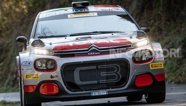 Citroën C3 R5 al suo debutto alla targa Florio - Foto  di
