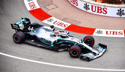 F1 2019 GP Monaco, prove libere: Mercedes in vetta con Hamilton davanti a Bottas, Vettel terzo