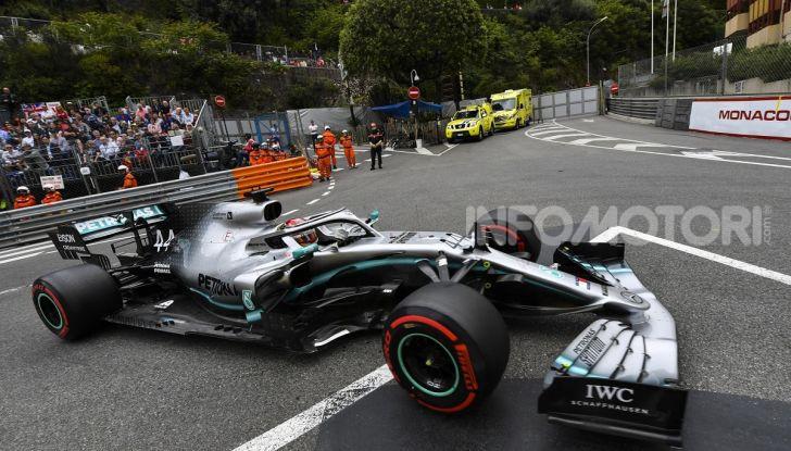 F1 2019 GP Monaco, qualifiche: Hamilton fa la magia e centra la pole davanti a Bottas e Verstappen, Vettel solo quarto - Foto 13 di 32