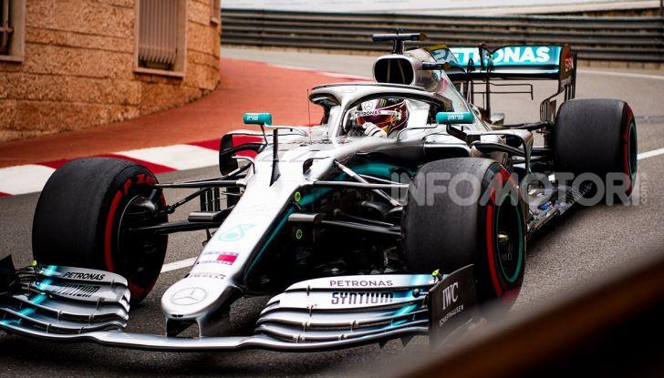 F1 2019 GP Monaco, prove libere: Mercedes in vetta con Hamilton davanti a Bottas, Vettel terzo - Foto 2 di 32