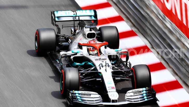 F1 2019 GP Monaco, prove libere: Mercedes in vetta con Hamilton davanti a Bottas, Vettel terzo - Foto 1 di 32