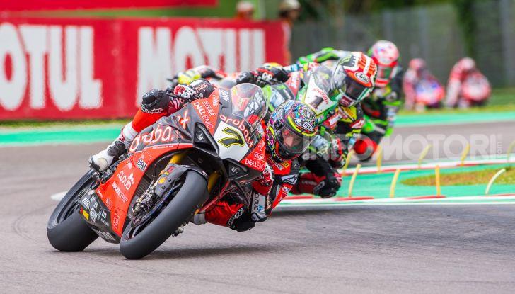 SBK 2019 GP d'Italia: a Imola Jonathan Rea rompe il dominio di Bautista e della Ducati - Foto 35 di 35