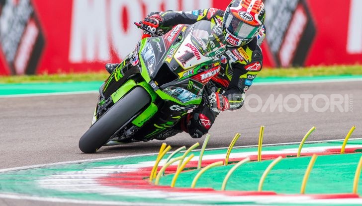 SBK 2019 GP d'Italia: a Imola Jonathan Rea rompe il dominio di Bautista e della Ducati - Foto 34 di 35