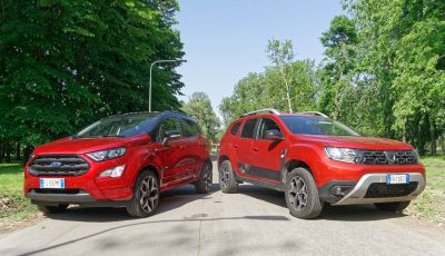 Prova doppia tra SUV best seller: Dacia Duster e Ford EcoSport