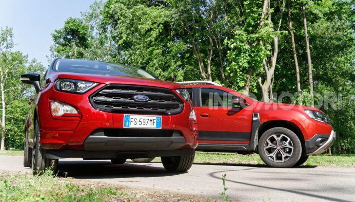 Prova doppia tra SUV best seller: Dacia Duster e Ford EcoSport - Foto 8 di 47
