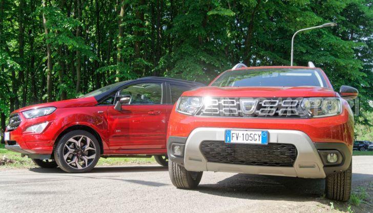 Prova doppia tra SUV best seller: Dacia Duster e Ford EcoSport - Foto 10 di 47