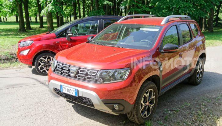 Prova doppia tra SUV best seller: Dacia Duster e Ford EcoSport - Foto 11 di 47