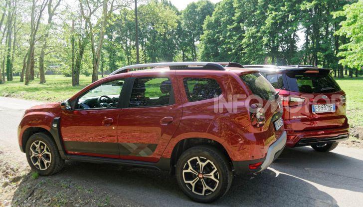 Prova doppia tra SUV best seller: Dacia Duster e Ford EcoSport - Foto 12 di 47