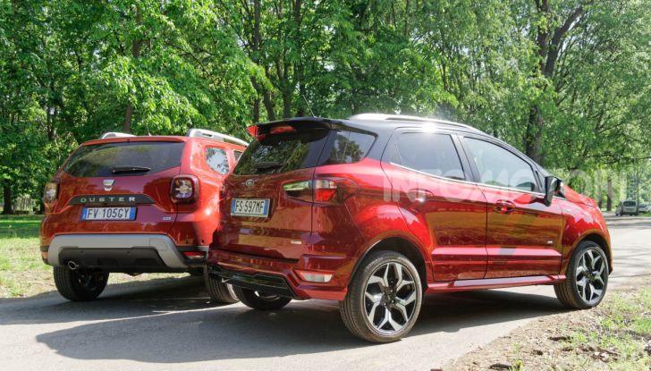 Prova doppia tra SUV best seller: Dacia Duster e Ford EcoSport - Foto 13 di 47