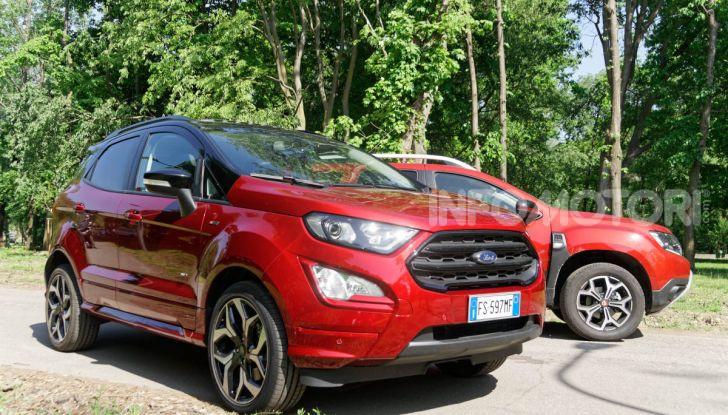 Prova doppia tra SUV best seller: Dacia Duster e Ford EcoSport - Foto 14 di 47