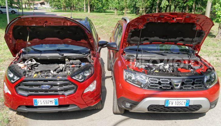 Prova doppia tra SUV best seller: Dacia Duster e Ford EcoSport - Foto 15 di 47