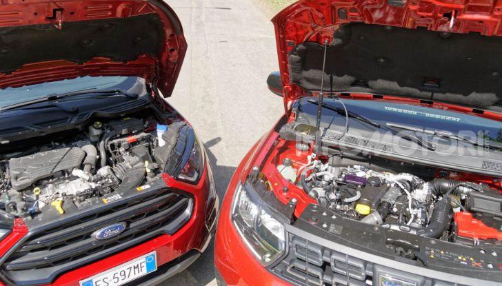 Prova doppia tra SUV best seller: Dacia Duster e Ford EcoSport - Foto 21 di 47