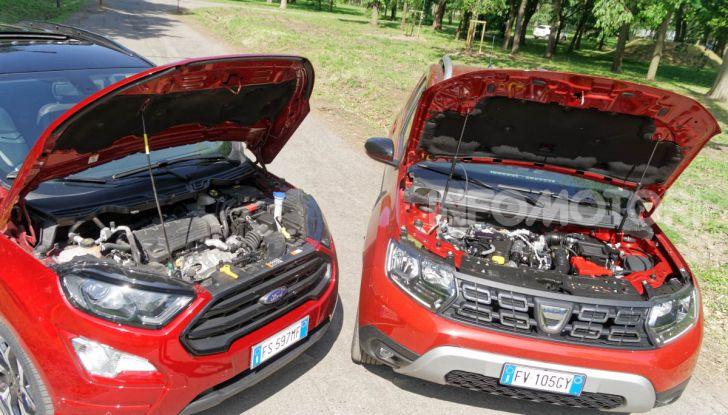 Prova doppia tra SUV best seller: Dacia Duster e Ford EcoSport - Foto 22 di 47
