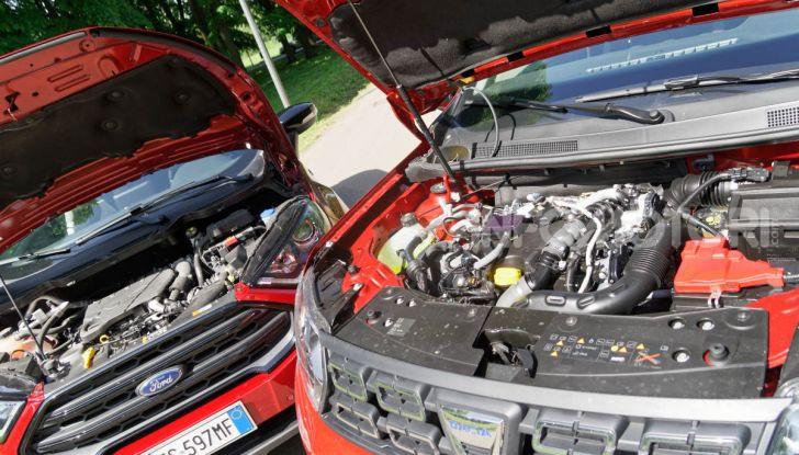 Prova doppia tra SUV best seller: Dacia Duster e Ford EcoSport - Foto 24 di 47