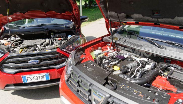 Prova doppia tra SUV best seller: Dacia Duster e Ford EcoSport - Foto 25 di 47