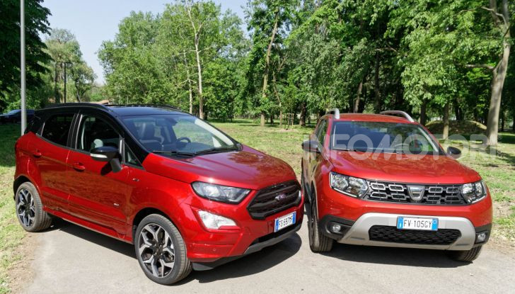 Prova doppia tra SUV best seller: Dacia Duster e Ford EcoSport - Foto 27 di 47