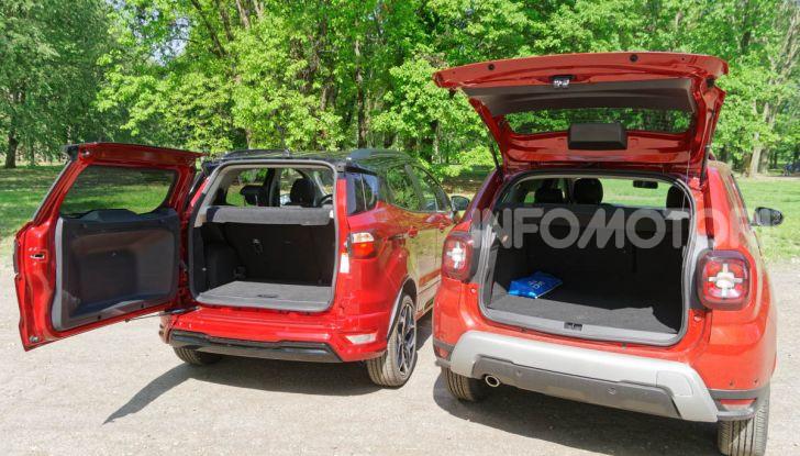 Prova doppia tra SUV best seller: Dacia Duster e Ford EcoSport - Foto 31 di 47