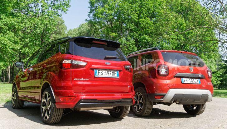 Prova doppia tra SUV best seller: Dacia Duster e Ford EcoSport - Foto 34 di 47