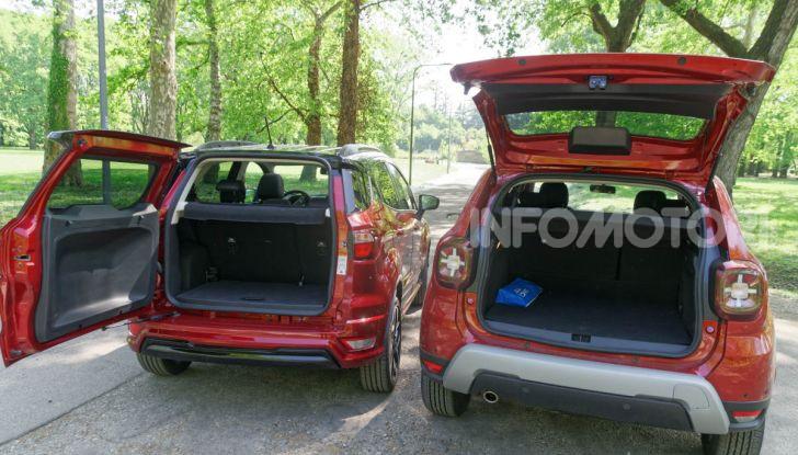 Prova doppia tra SUV best seller: Dacia Duster e Ford EcoSport - Foto 35 di 47