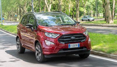 Prova Ford EcoSport 2019, il rinnovato B-SUV dell'ovale blu alla conquista dell'Europa