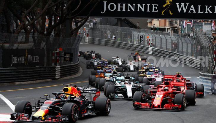 F1 2019 GP Monaco, prove libere: Mercedes in vetta con Hamilton davanti a Bottas, Vettel terzo - Foto 31 di 32